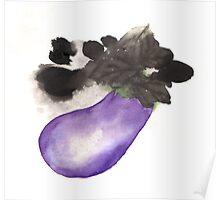 Aubergine / Eggplants Poster