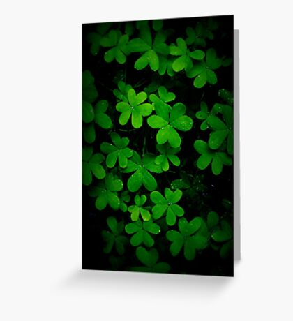 """Little Green"" Greeting Card"