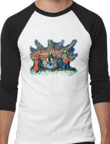 Blisstone Men's Baseball ¾ T-Shirt