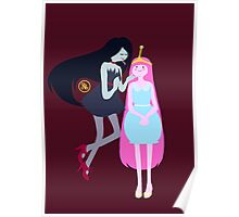Marceline & Princess Bubblegum Poster