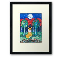 He Who Knows Framed Print