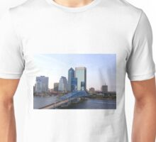 Blue Bridge Jacksonville Florida Unisex T-Shirt