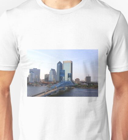 Blue Bridge Jacksonville Florida Unisex T-Shirt