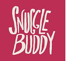 Snuggle Buddy x Pink by Leah Flores
