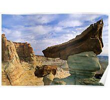Triangular Rock Poster
