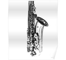 sax abstract Poster