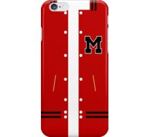 Glee Football Jacket iPhone Case/Skin