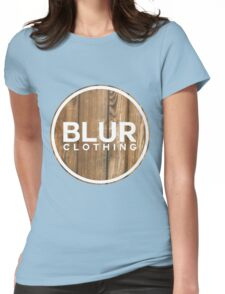 Blur PLANK Womens Fitted T-Shirt
