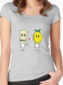 Lemon Love Women's Fitted Scoop T-Shirt