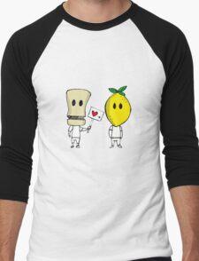 Lemon Love Men's Baseball ¾ T-Shirt
