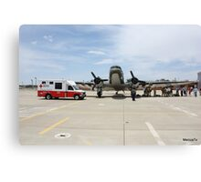 Red Cross and US Air Force Canvas Print