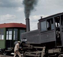 Cog Train Railway, Pike's Peak, Colorado circa 1900 Sticker