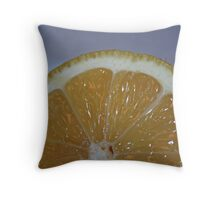 Lemon Cells Throw Pillow