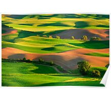 Palouse Patchwork Poster