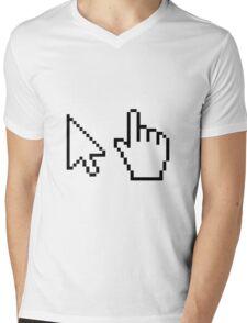 Select Pixels Mens V-Neck T-Shirt
