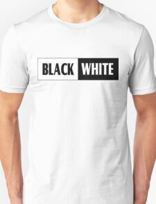 Black & White Design T-shirt Unisex T-Shirt