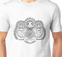 Valley of the Russian Dolls Unisex T-Shirt