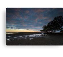 Nudgee Beach Canvas Print