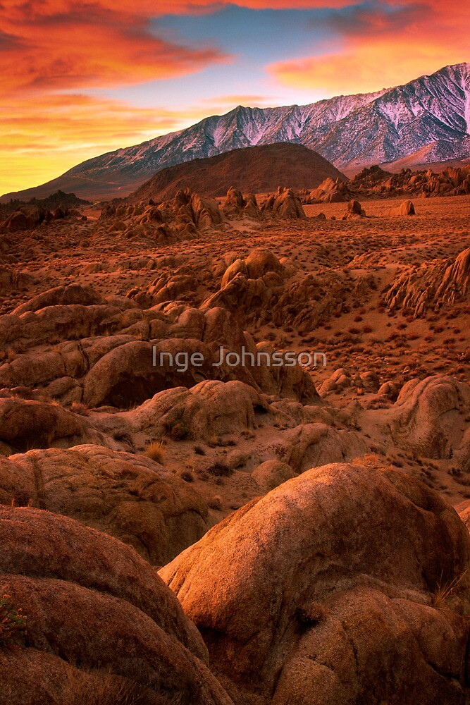 Martian Landscape by Inge Johnsson
