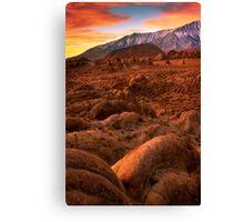 Martian Landscape Canvas Print