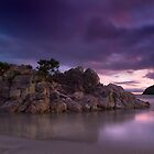 Purple and pink reflections by Ken Wright