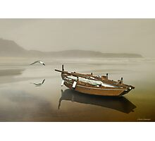 The solitude of the sea Photographic Print