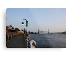 Wilmington Dusk Metal Print