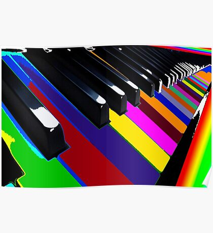 Colourful Music Poster