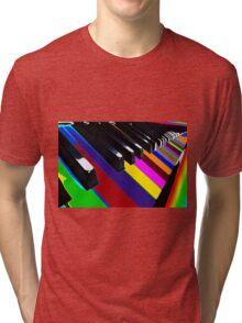 Colourful Music Tri-blend T-Shirt