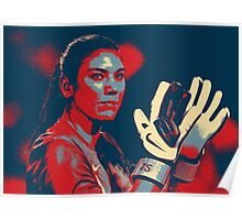 Hope Solo  Poster