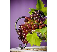 My Grapes Photographic Print