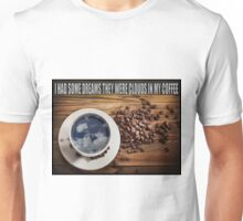 CLOUDS IN MY COFFEE Unisex T-Shirt