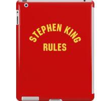 Stephen King Rules iPad Case/Skin