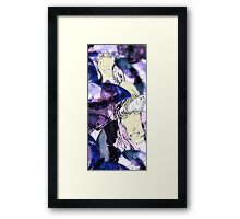 Two Imaginary Women and Abstracted Butterflies #3 Framed Print