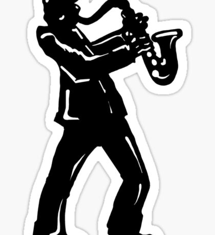 New York Boogie Nights Saxophone Sticker