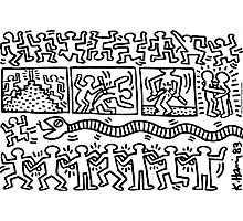 keith haring Photographic Print