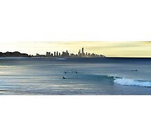 View of Surfers and Paradise Photographic Print