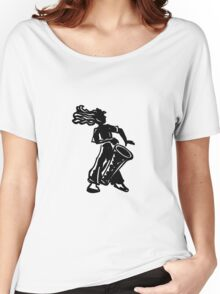 New York Boogie Nights Drum Women's Relaxed Fit T-Shirt