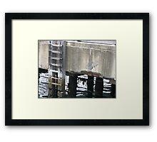 Ladder. Framed Print