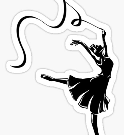 New York Boogie Nights Dancers Sticker