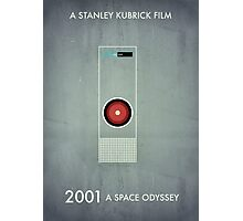 2001 - Hal 9000 Photographic Print