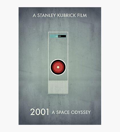 2001 - Hal 9000 Photographic Print
