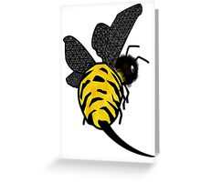 Mr Sting Greeting Card