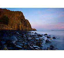 Aberdour Cliffs Photographic Print