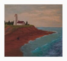 PEI Lighthouse Baby Tee