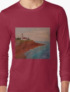 PEI Lighthouse Long Sleeve T-Shirt