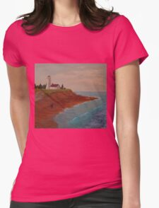PEI Lighthouse Womens Fitted T-Shirt