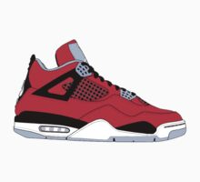 "Air Jordan IV (4) ""Toro Bravo"" by gaeldesmarais"