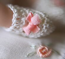 Dainty Pink Ribbons by Jazzyjane
