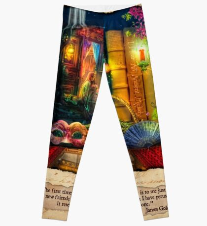 The Curious Library Calendar - March Leggings
